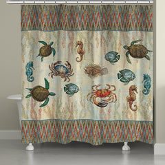 Aquarian Shower Curtain