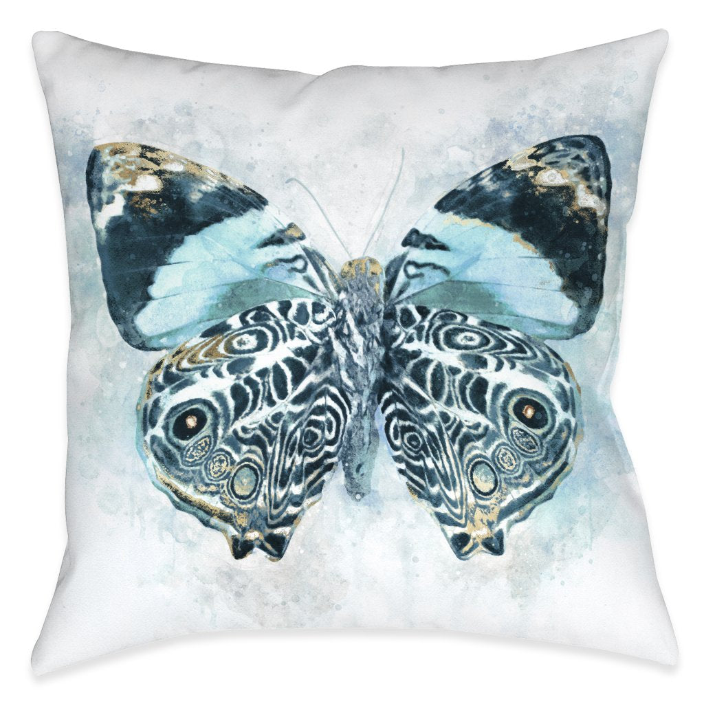 Artful Butterfly Nature Outdoor Decorative Pillow