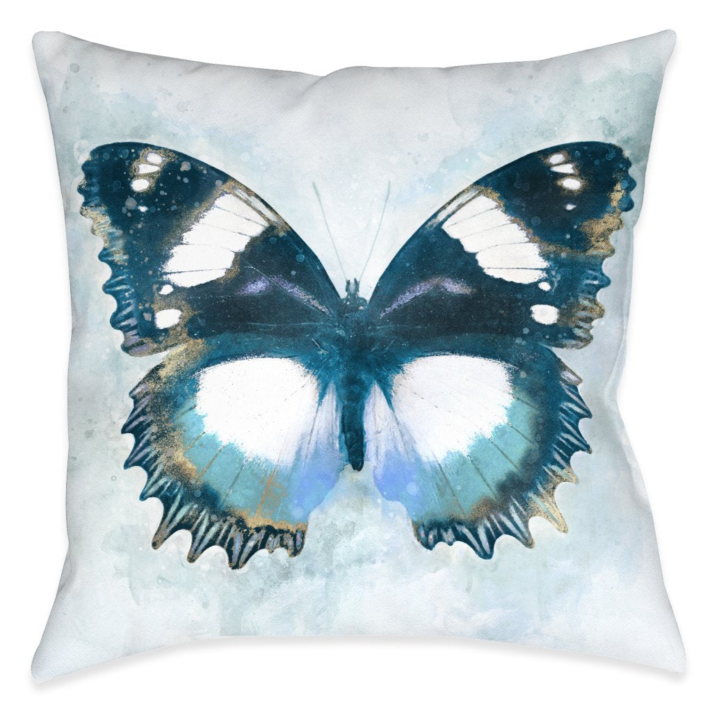 Artful Butterfly Wonderland Outdoor Decorative Pillow