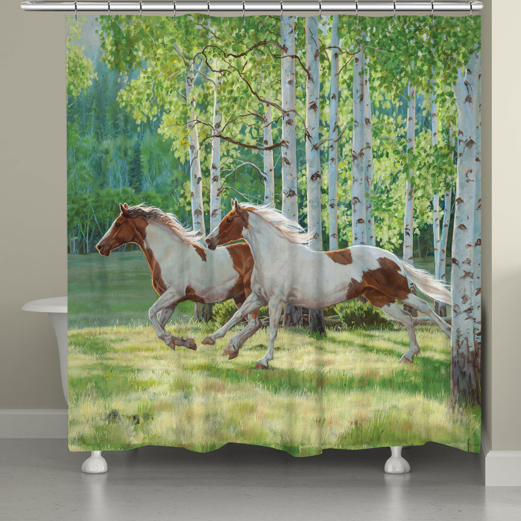 Aspen Run Shower Curtain