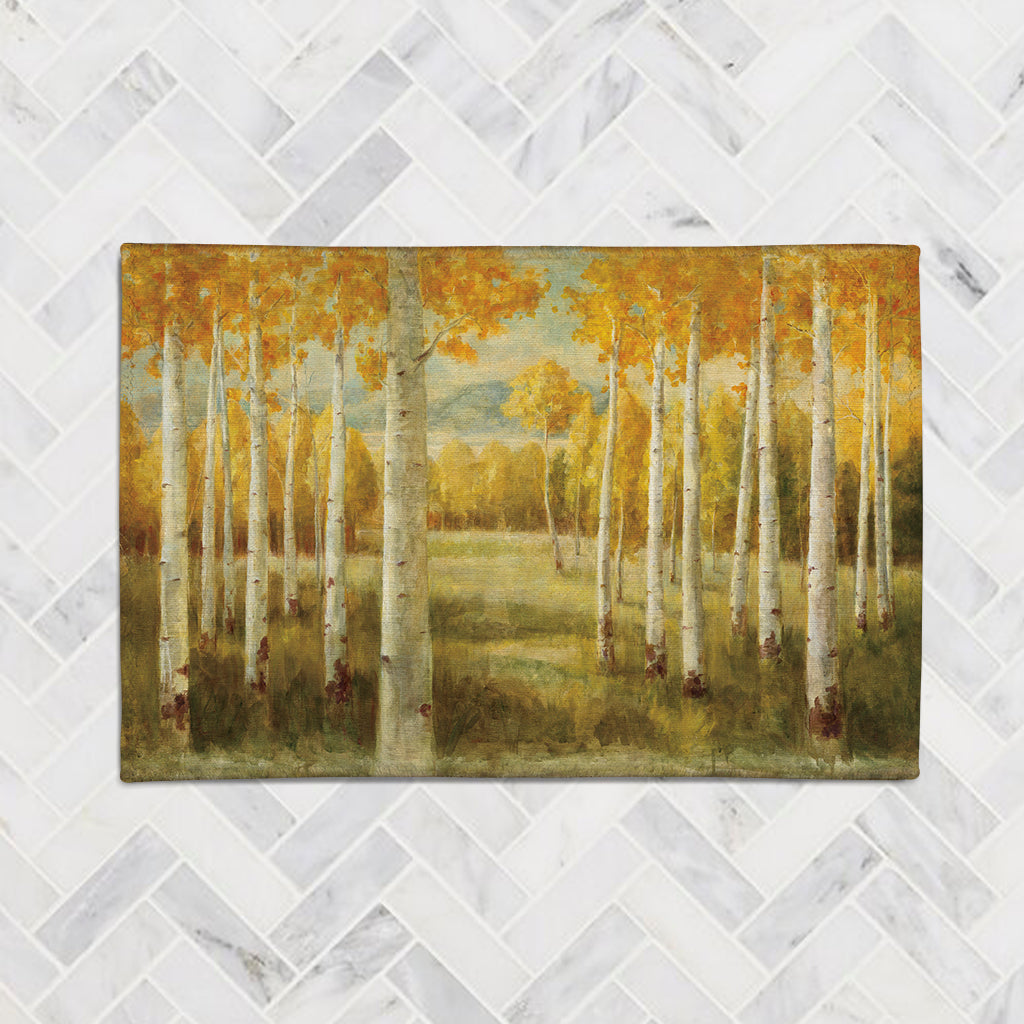Aspen Birches Accent Rug