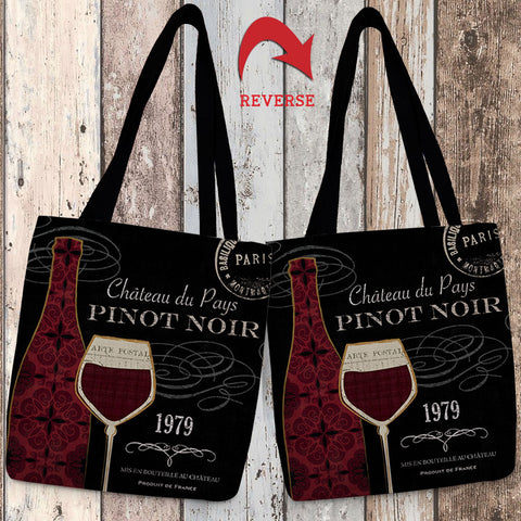 At the Winery III Canvas Tote Bag