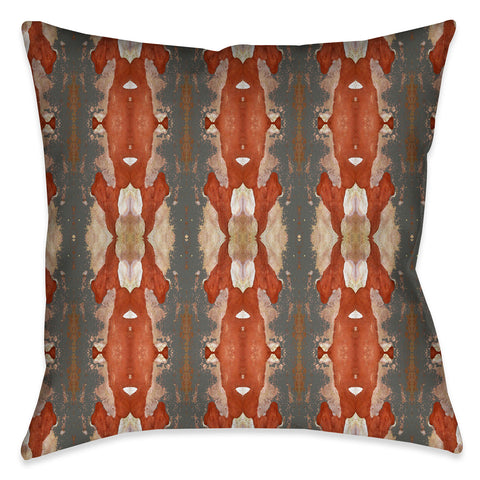 Autumn Crepe Myrtle Indoor Decorative Pillow
