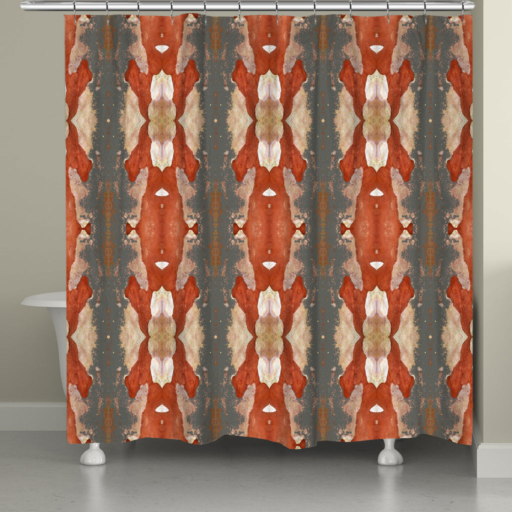 Autumn Crepe Myrtle Shower Curtain – Laural Home