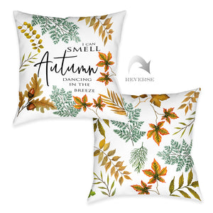 Autumn Dancing Outdoor Decorative Pillow