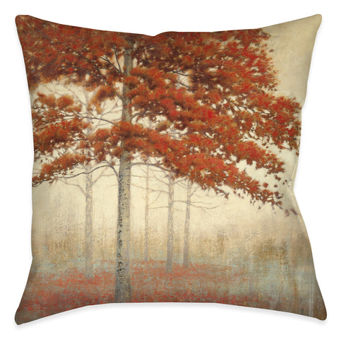 Autumn Trees II Indoor Decorative Pillow