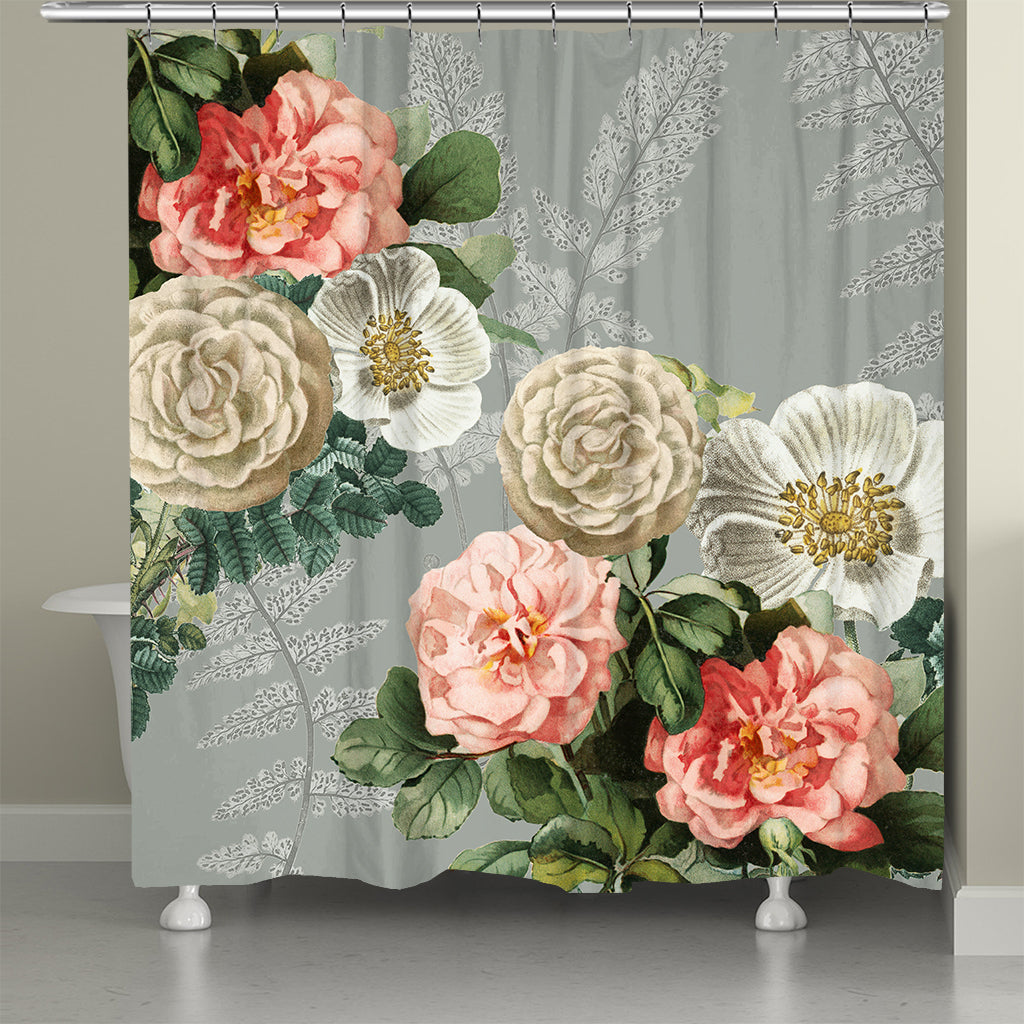 Ava Floral Shower Curtain