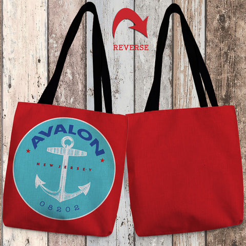 Avalon II Canvas Tote Bag