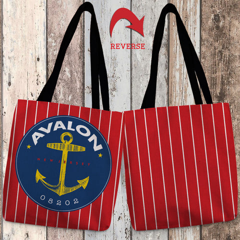 Avalon I Canvas Tote Bag