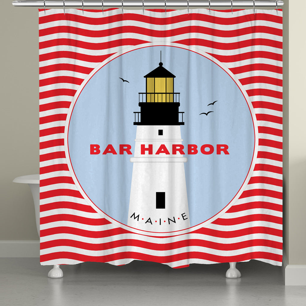 Bar Harbor Shower Curtain – Laural Home