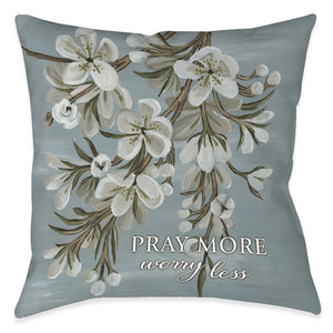 Be Done In Love Pray Indoor Decorative Pillow