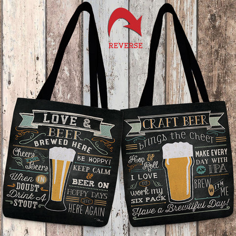 Be Hoppy Canvas Tote Bag