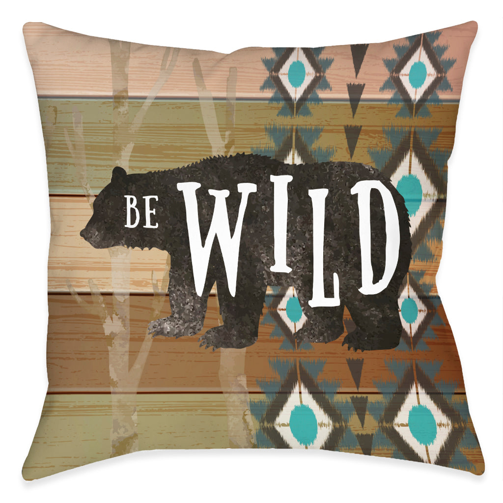 Be Wild Indoor Decorative Pillow