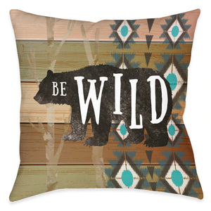 Be Wild Outdoor Decorative Pillow