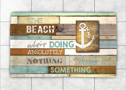Beach Mantra Accent Rug