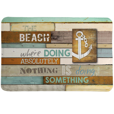 Beach Mantra Memory Foam Rug