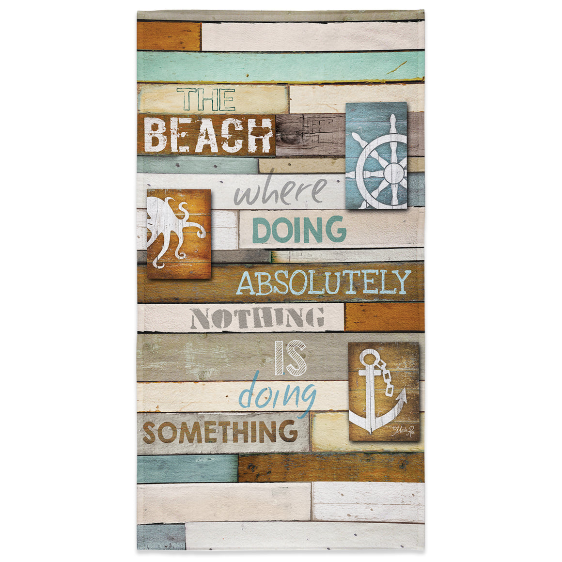Beach Mantra Beach Towel
