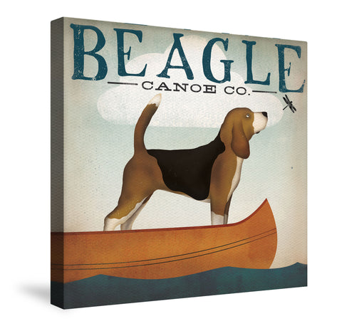 Beagle Canoe Co. Canvas Wall Art