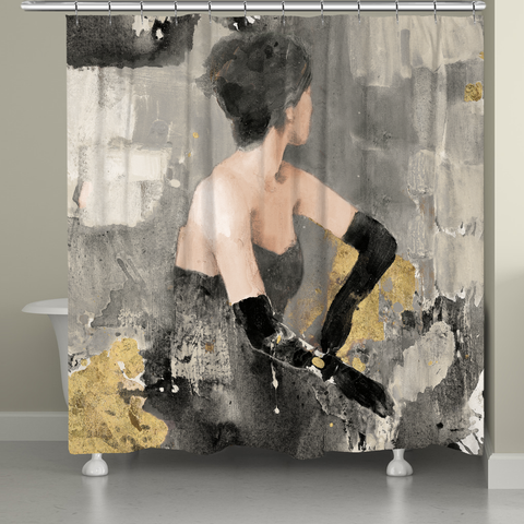 Evening Chic Shower Curtain
