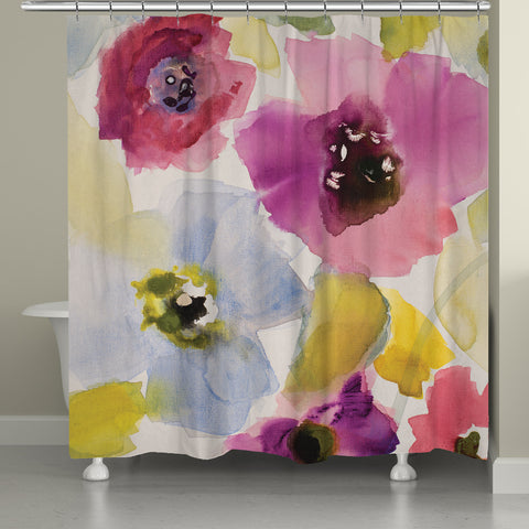Belle Lumiere Shower Curtain