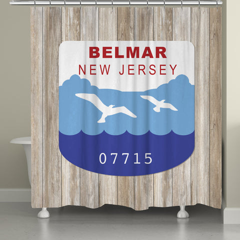 Belmar Shower Curtain