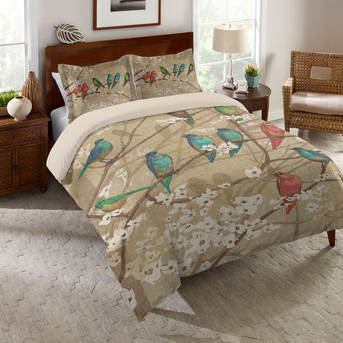 Birds and Blossoms Comforter