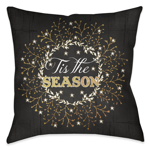 Tis the Season Indoor Decorative Pillow