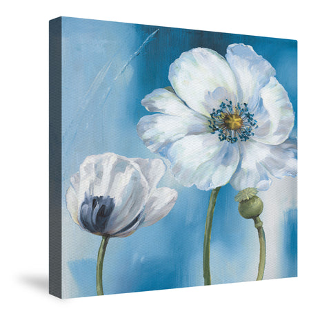 Blue Dance III Canvas Wall Art