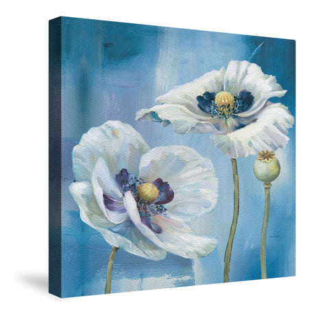 Blue Dance II Canvas Wall Art