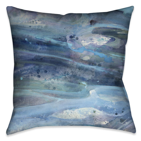 Rolling Waves Indoor Decorative Pillow