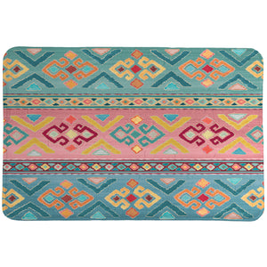 Bohemian Stripes Memory Foam Rug