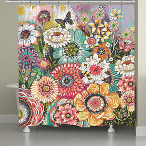 Bohemian Whimsy Shower Curtain