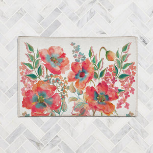 Bohemian Poppies Accent Rug