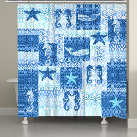 Boho Beach Shower Curtain