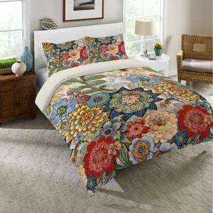 Boho Bouquet Duvet Cover