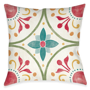 Boho Medallion Indoor Decorative Pillow