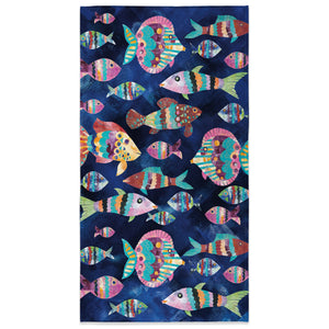 Boho Reef Beach Towel