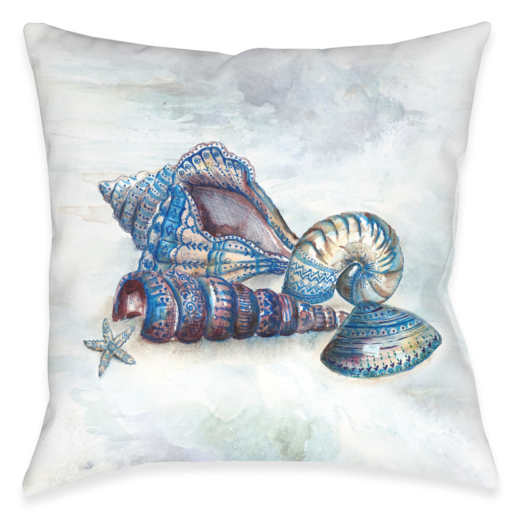 Venice Beach Sounds Of The Sea Outdoor Decorative Pillow