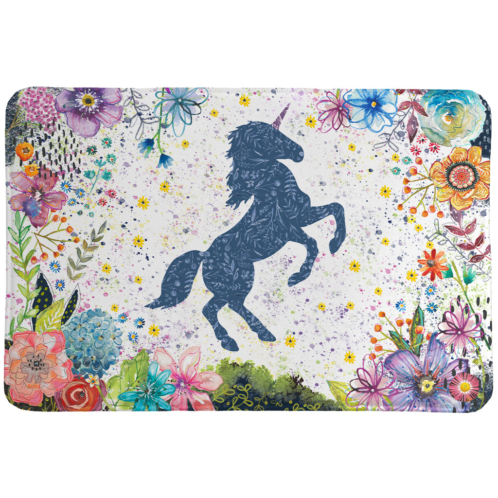 Enchanted Unicorn Memory Foam Rug