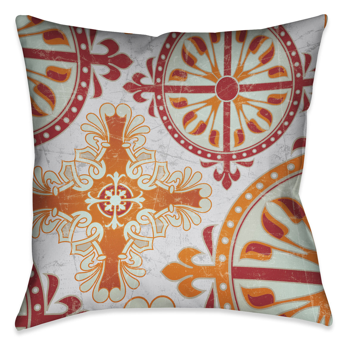 Medieval Persimmon Pillow II