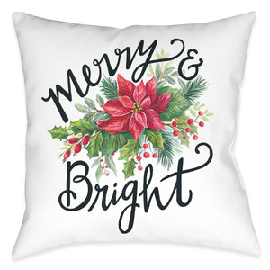 Bright Holiday Indoor Decorative Pillow
