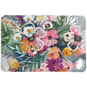 Brilliant Bouquet  Memory Foam Rug