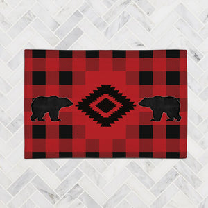 Buffalo Check Accent Rug