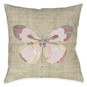 Sweet Butterfly Outdoor Decorative Pillow