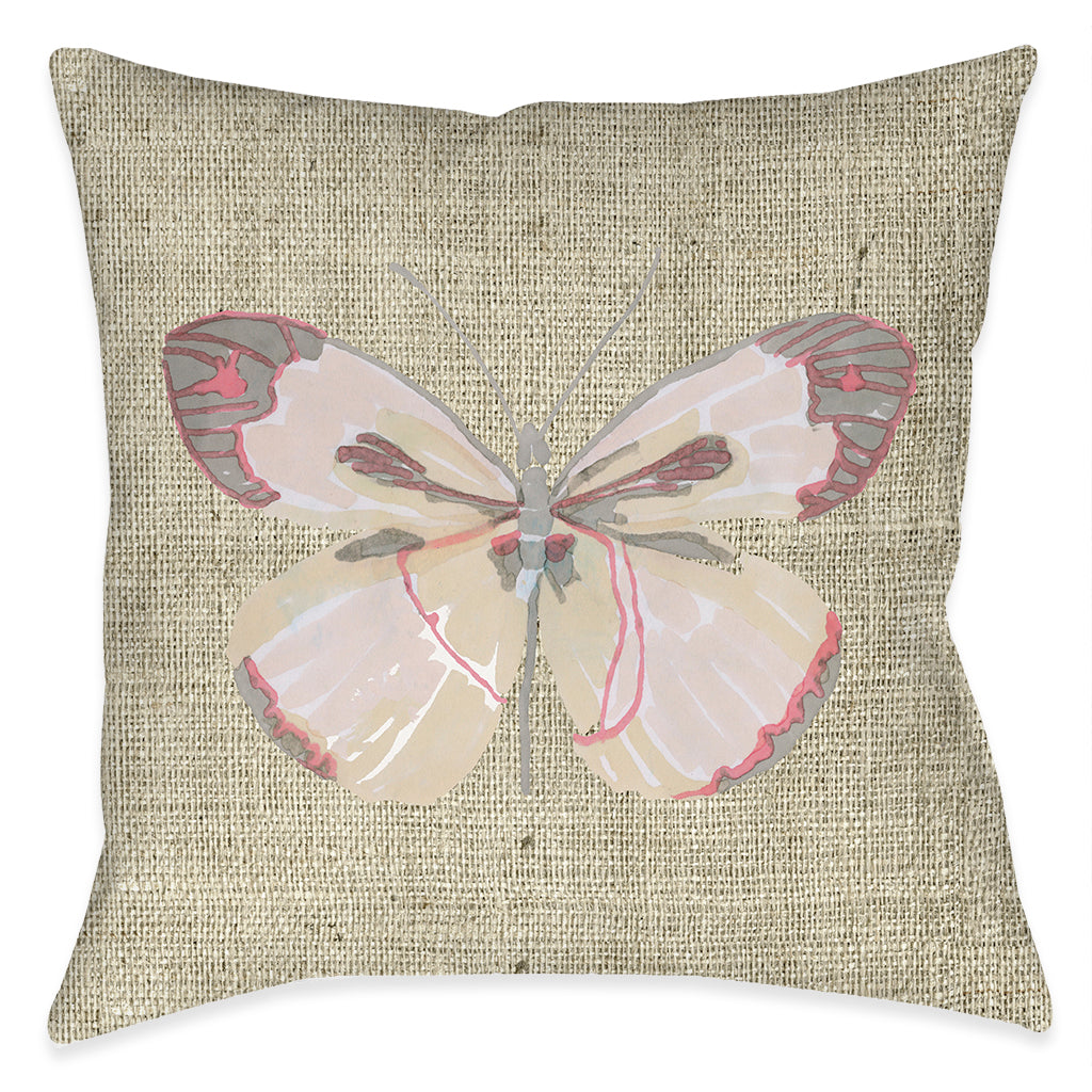 Sweet Butterfly Indoor Decorative Pillow