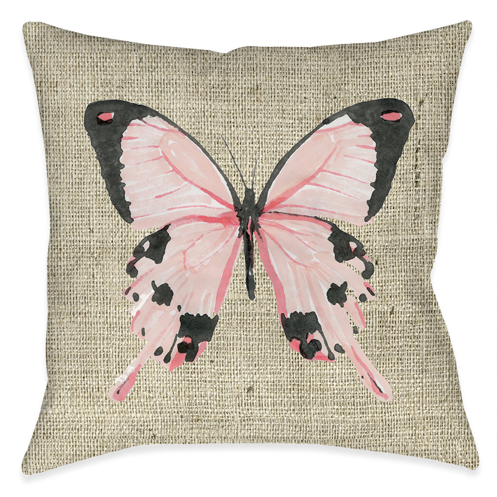 Butterfly Beauty Outdoor Decorative Pillow