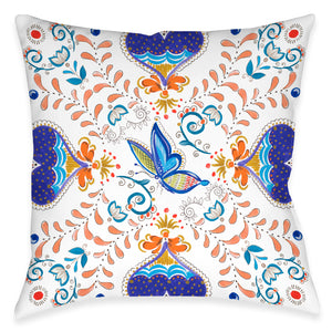 Whimsical Butterfly Indoor Decorative Pillow