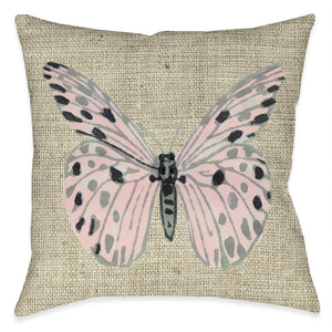 Butterfly Vibes Outdoor Decorative Pillow