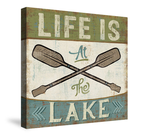 By the Lake I Canvas Wall Art