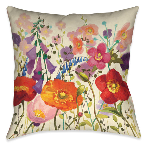 Blossoming Printemps III Indoor Decorative Pillow